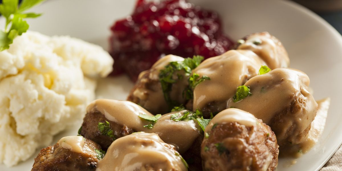 Ikea meatballs recipe - Get the Ikea Swedish meatball recipe