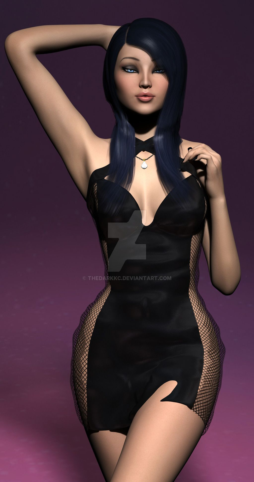 52aabb85226 Kc lil black dress by TheDarkKc.deviantart.com on  DeviantArt ...