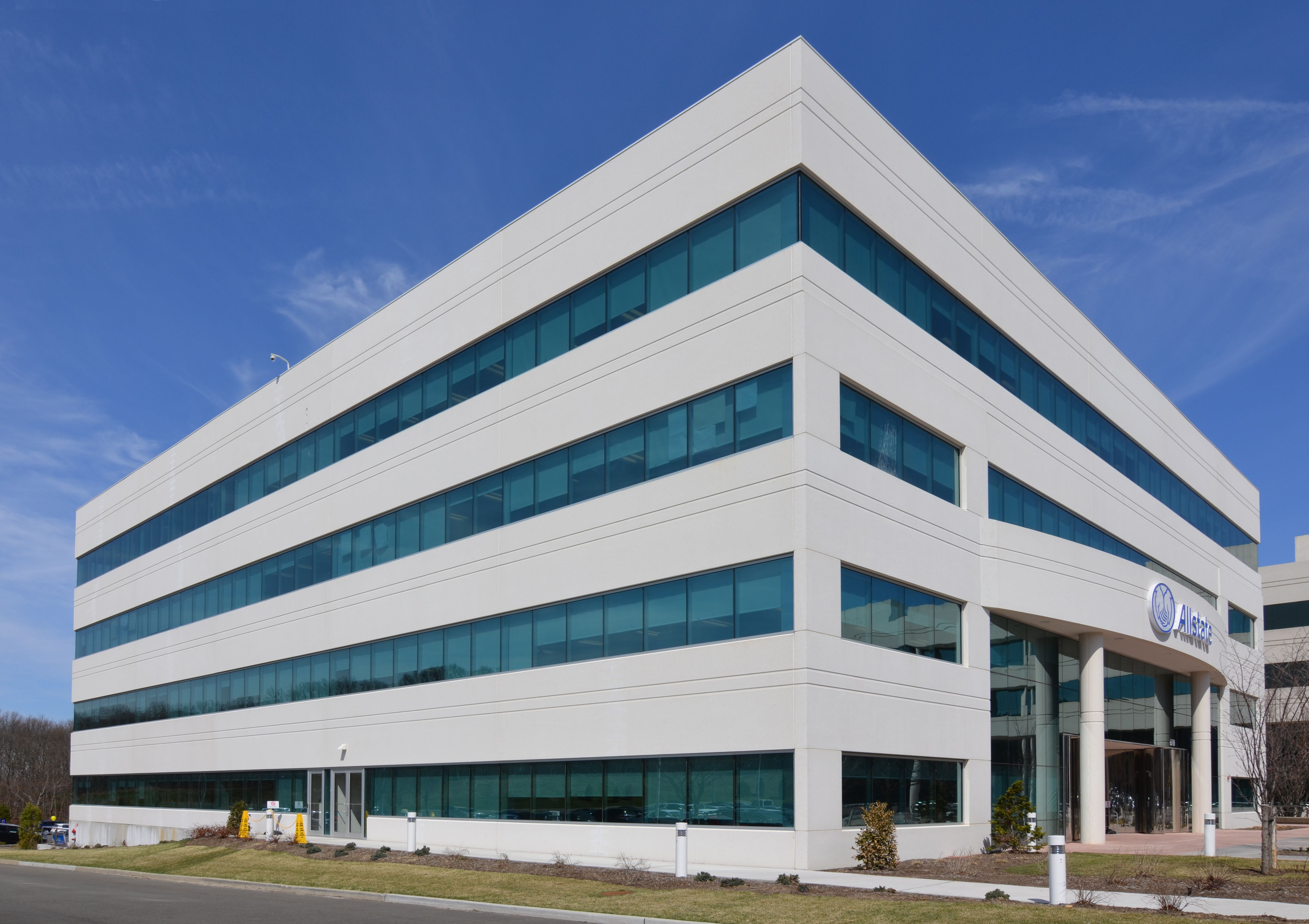 Here Is Another View Of Allstate Headquarters At The Happaugue