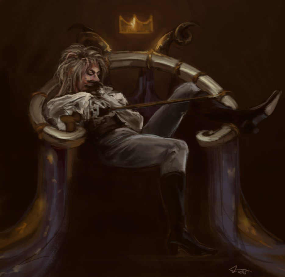 Labyrinth Throne Room Fan Art