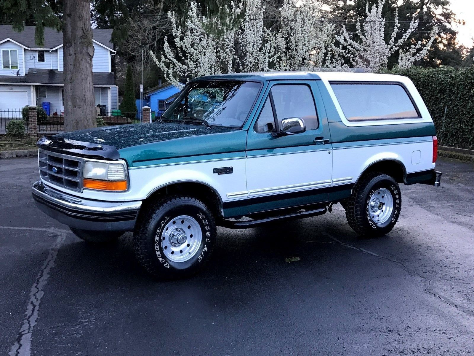 Awesome Ford 2017 1996 Ford Bronco Xlt 1996 Ford Bronco Xlt 4x4