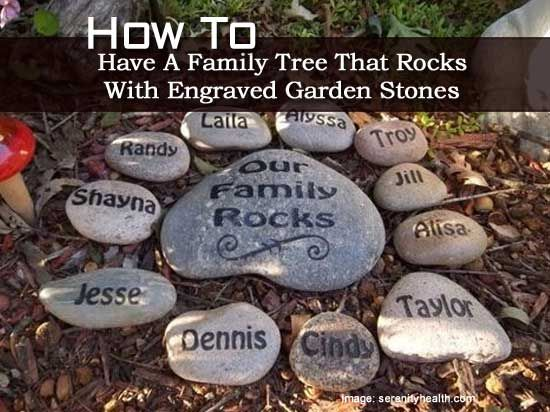 How to have a family tree that rocks with engraved garden stones how to have a family tree that rocks with engraved garden stones workwithnaturefo