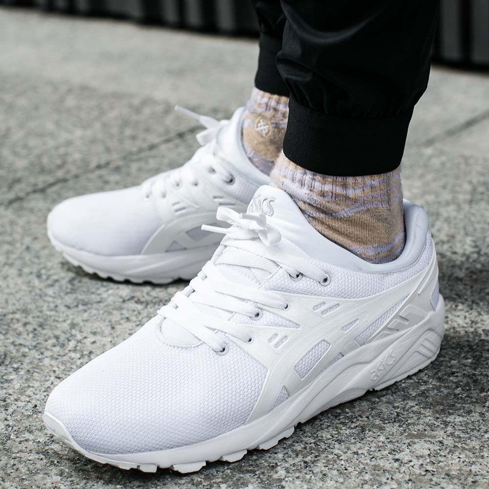 asics gel-kayano evo sneakers in white h707n 0101