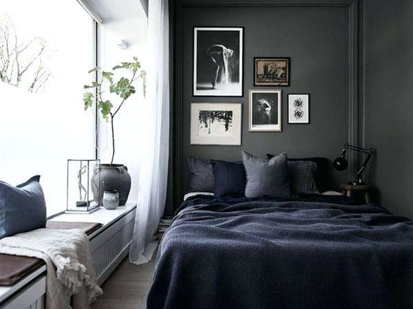 30 Elegant Small Bedroom Ideas For Men images