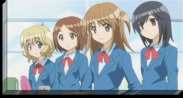 Moritasan wa Mukuchi Anime Canvas Anime, Canvas, Art
