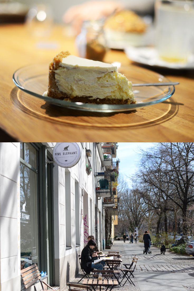 Five Elephant Flat White Und Cheesecake Pinterest Coffe Cake