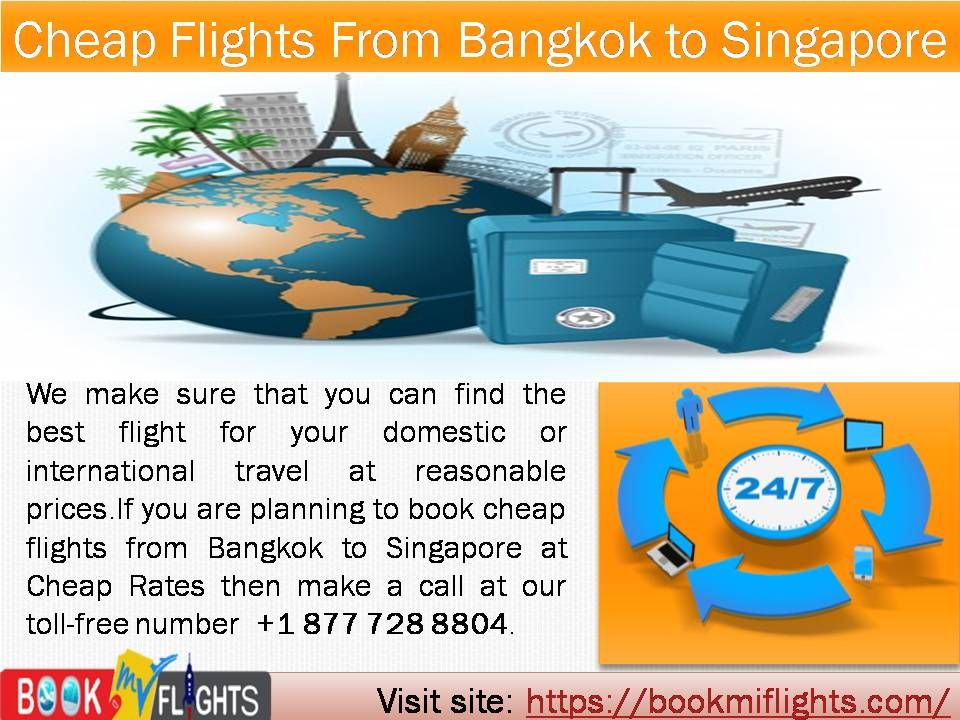 To book Cheap Flights From Bangkok To Singapore, you can