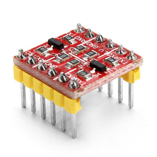 10 piezas 3 3v 5v ttl bidireccional convertidor de nivel lógico para