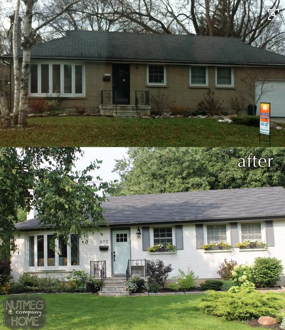 Updating An Old Bungalow With Exterior Paint House Paint