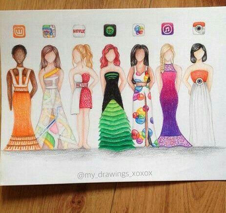 Wattpad Maps Netflix ... Dress ❤❤