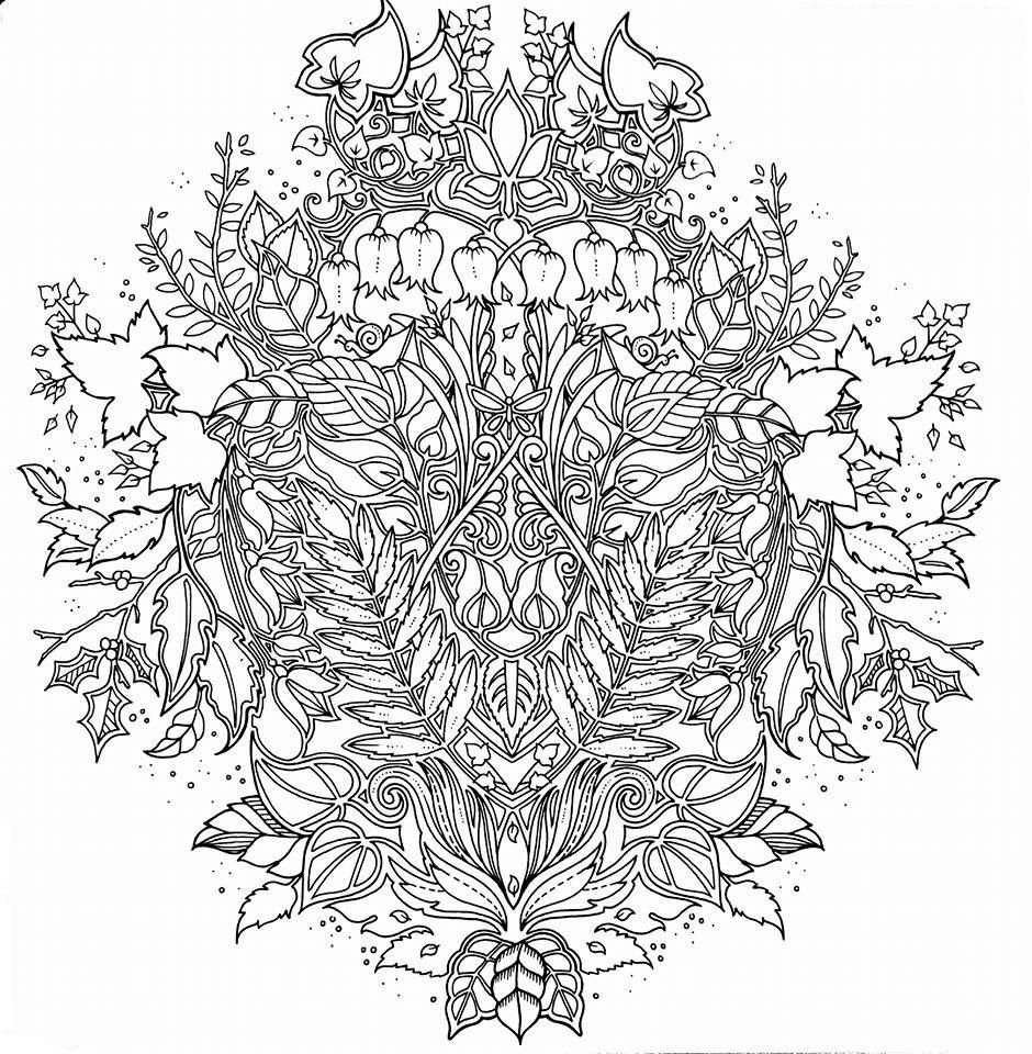 Enchanted Forest | Coloring - Botanical & Garden | Color ...