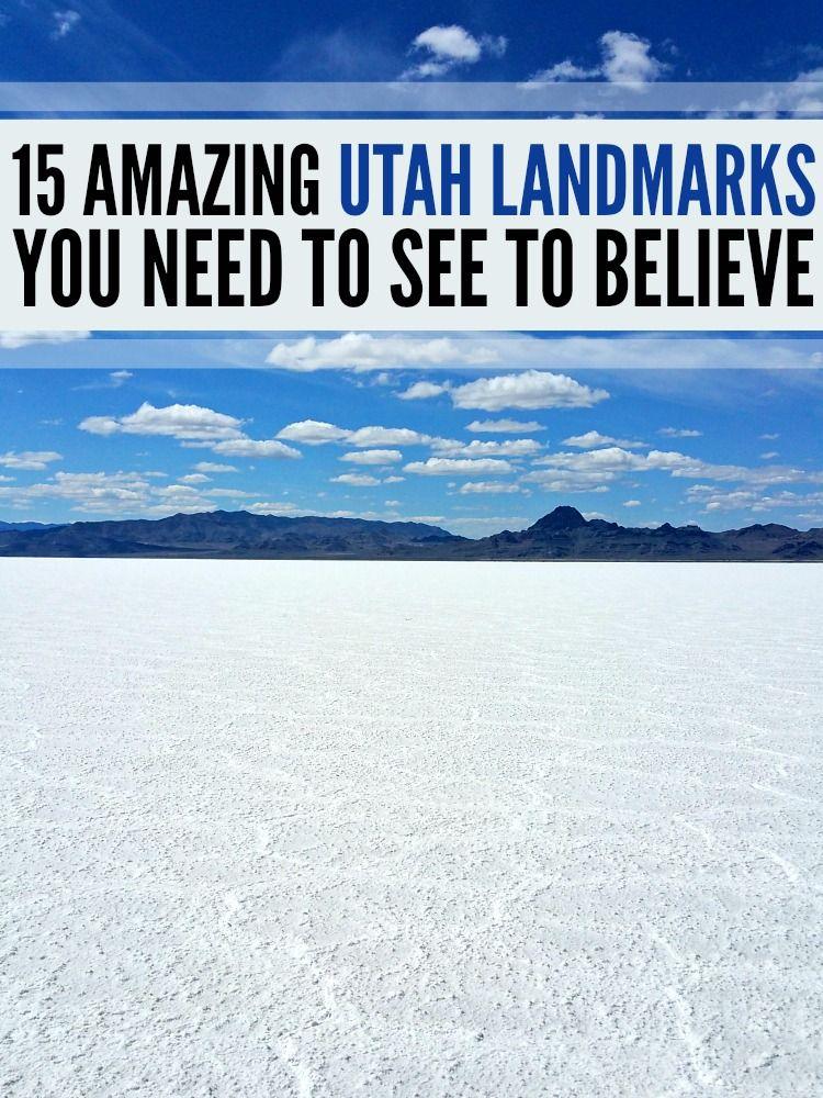 15 amazing Utah landmarks you need to see to believe!