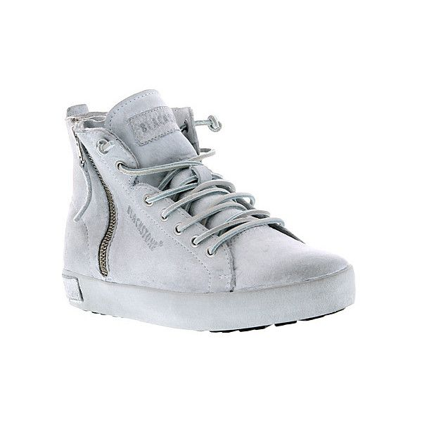 Blackstone Shoes KL62  Sneakers ($260) ❤ liked on Polyvore featuring shoes, sneakers, white, white trainers, blackstone shoes, white shoes and white sneakers