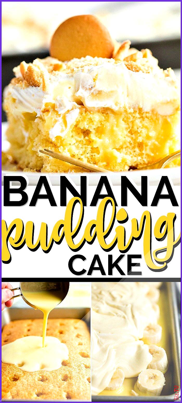 Banana Pudding Cake Banana Pudding Cake Spaceships and Laser Beams spaceshipslb Best Desserts EVER