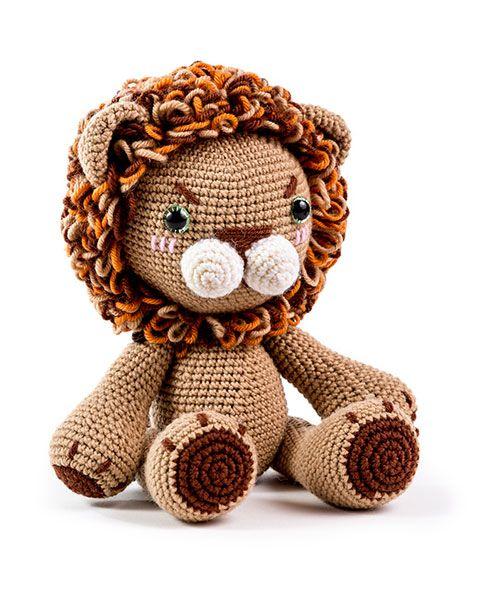 Zoomigurumi 6 - Woo Ri the lion by An Jiyoun - Amigurumipatterns net