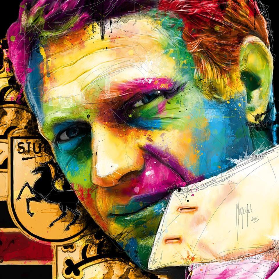 Color art facebook - Facebook Drawing Artistmc Queensteve Mcqueencolor