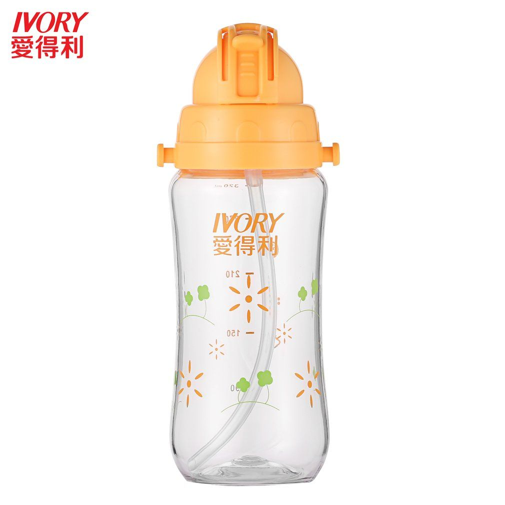 US Toddler Baby Kid Infant Feeding Drinking Water Straw Bottle Sippy Suction Cup