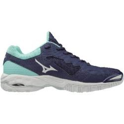 Photo of Mizuno Damen Handballschuhe Wave Phantom 2, Größe 37 in Astral Aura/white/Bluelight, Größe 37 in Ast