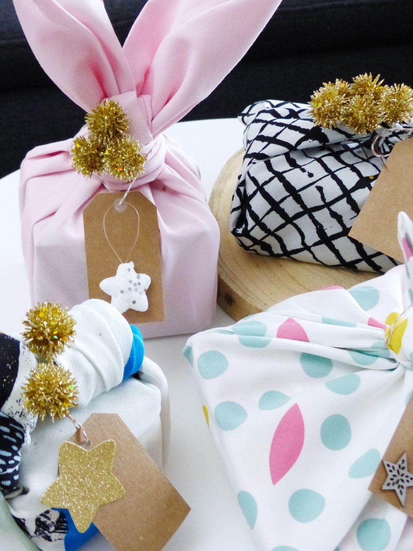 DIY de Noël 9, emballage cadeau écologique avec le