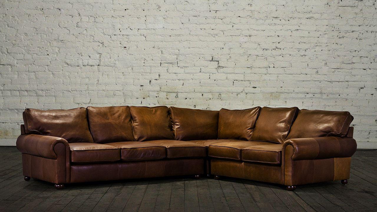 Cococo Home Lexington Square Corner Leather Sectional 5157 Leather Sofa Decor Leather Sectional Sofa Decor
