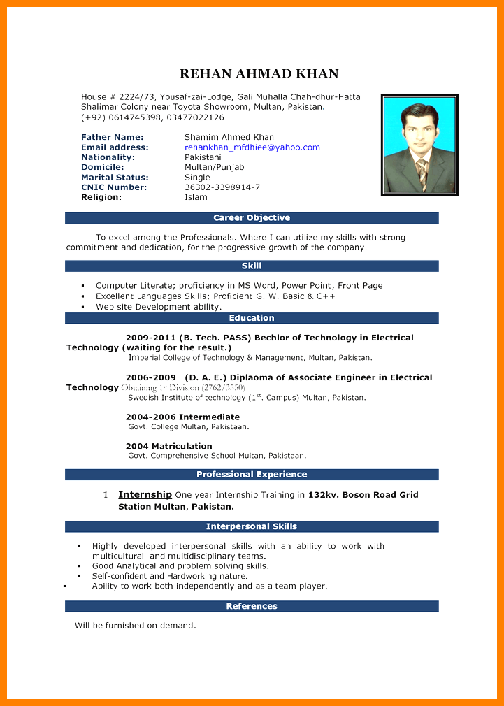 5 Cv Sample Format Word Theorynpractice Resume Format Download Download Cv Format Resume Format For Freshers