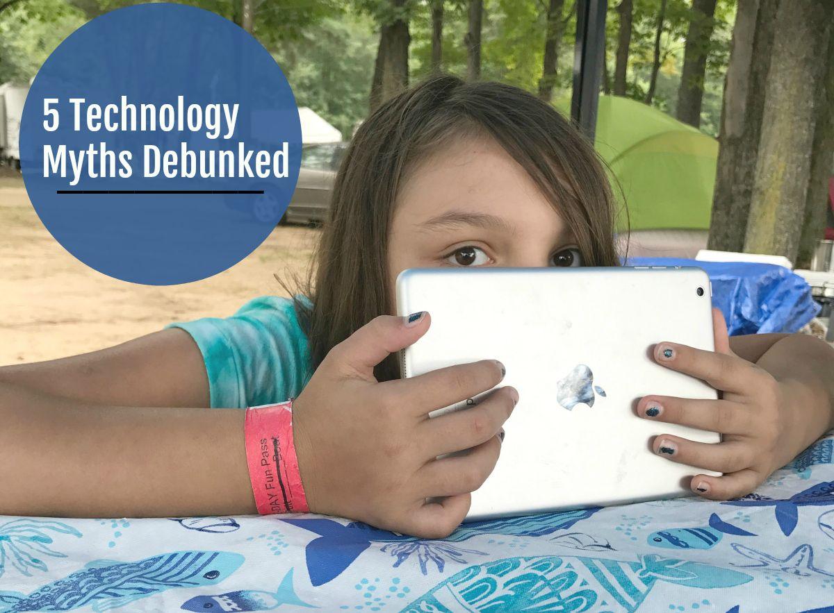 5 Technology Myths Debunked Technology Blog Love Fast Internet