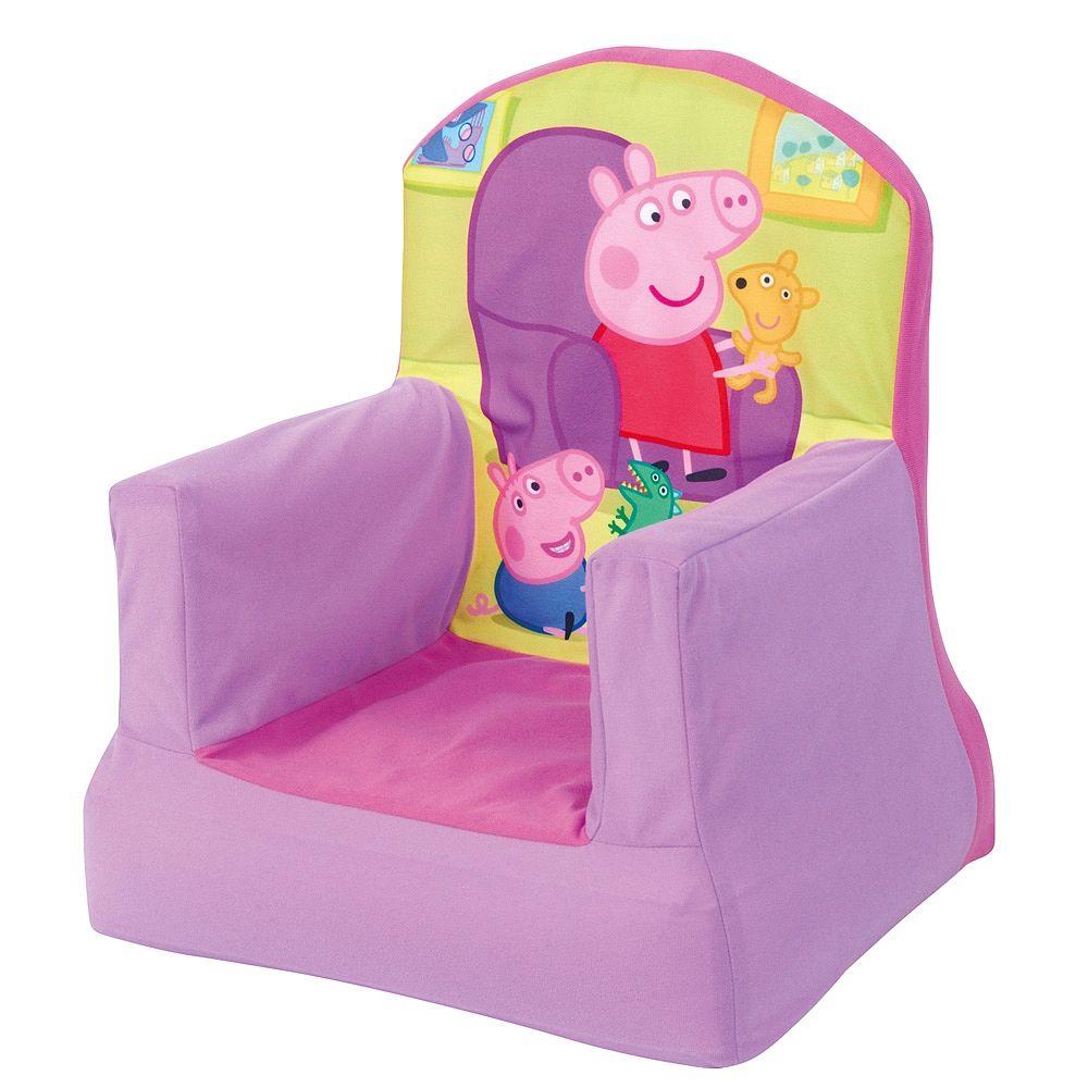 Peppa Pig Silla Hinchable Peppa Pig Nuestra Cerdita Favorita  # Muebles De Peppa Pig