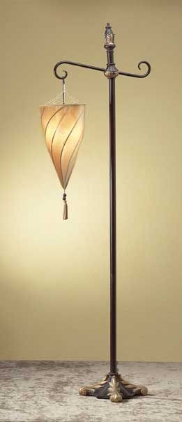 Spiral Hanging Floor Lamp | Floor lamp, Lights and House
