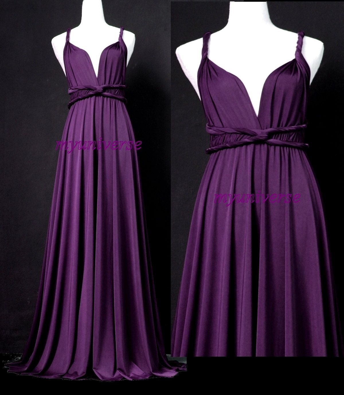 Best 25+ Eggplant Bridesmaid Dresses Ideas On Pinterest