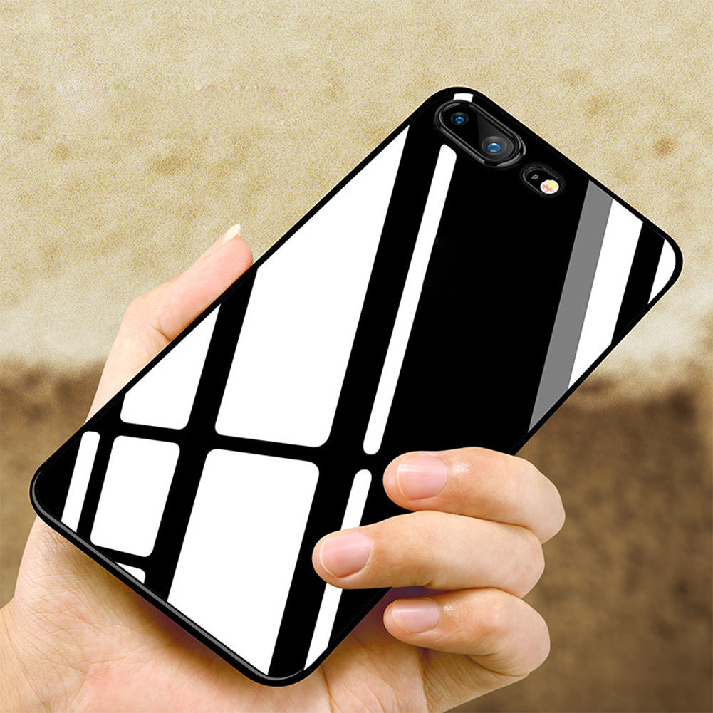 a38fa35987 $0.99 - For Apple Iphone X 8 Plus Silicone Case Glossy Jet Black Shockproof  Slim Covers