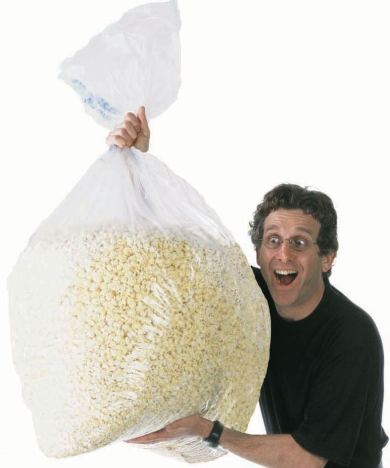 Huge Bag Of Popcorn With Images