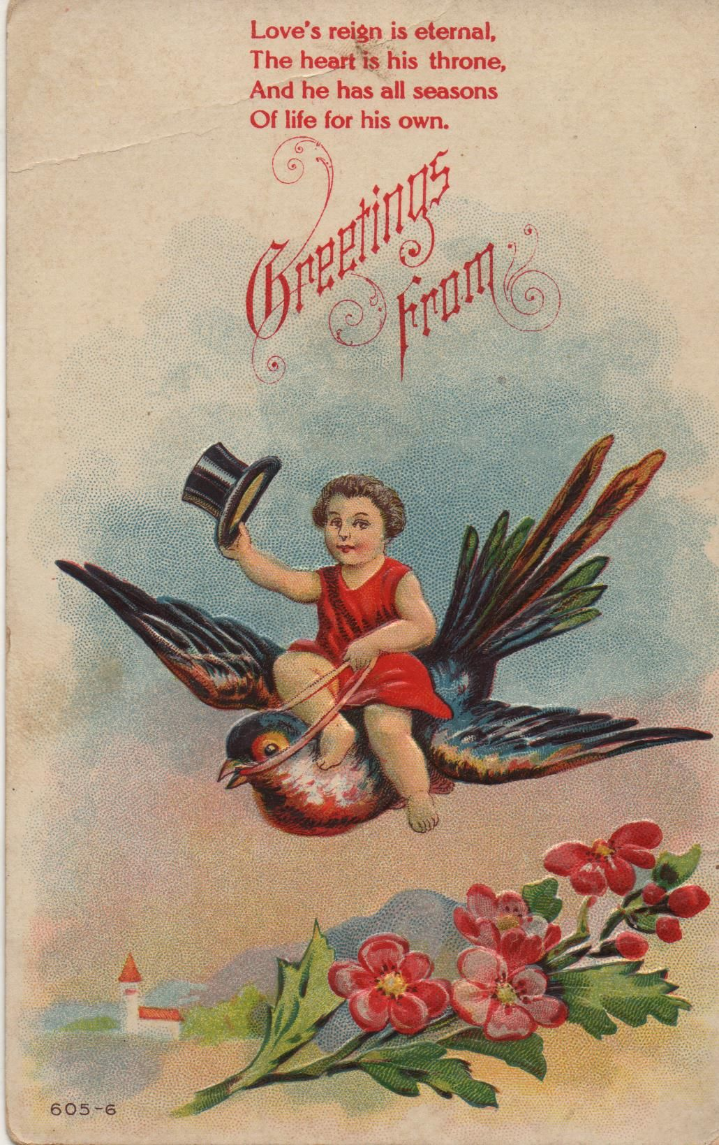 1908 postcard. Hagins collection.