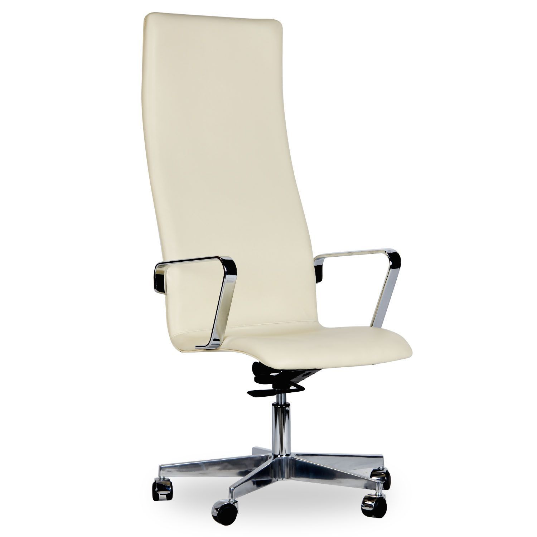 silla jacob -italian leather con ruedas- (sillas de oficina ... - Muebles De Oficina Diseno