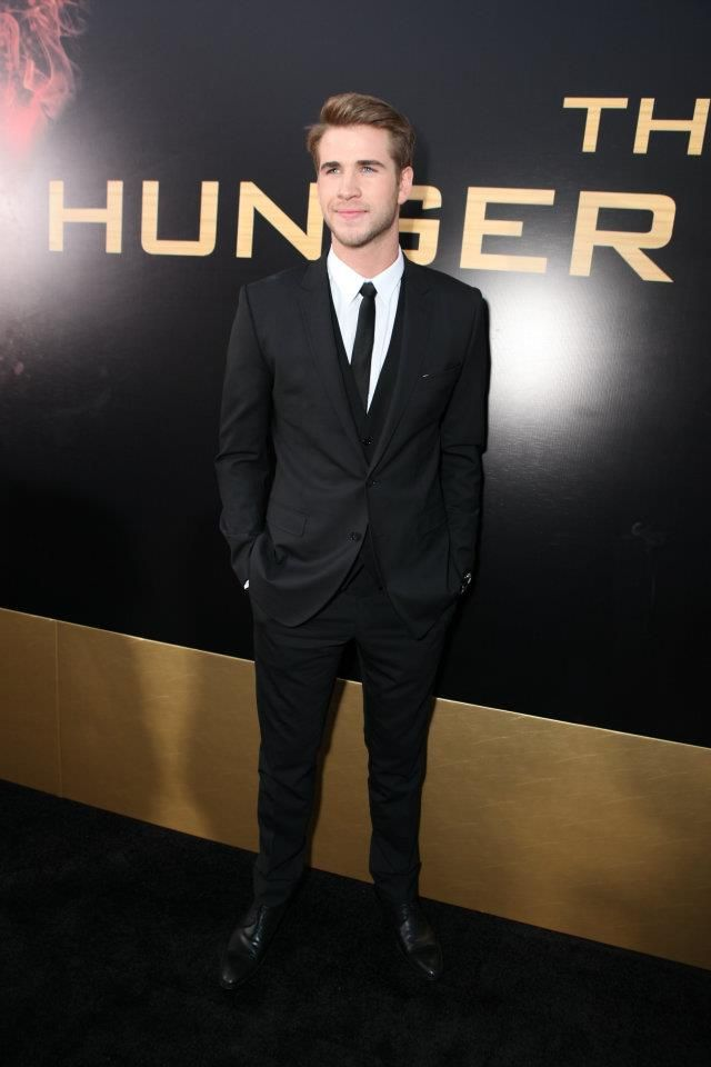 The Hunger Games World Premiere at Nokia Theater L.A Live---Liam Hemsworth