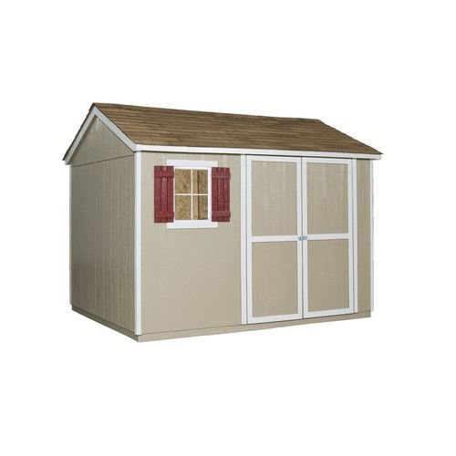 Zoomed Heartland Kensington 10 Ft X 8 Ft Wood Storage Shed Lots Of