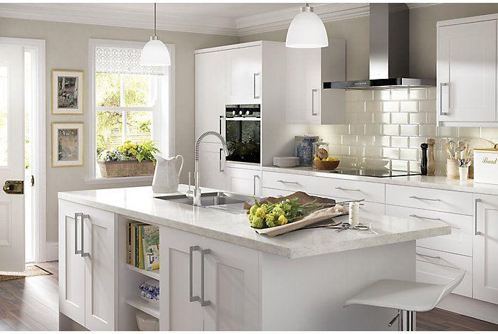 It Classic White  Kitchen Ranges  Kitchen  Rooms  Diy At B&q Custom Bandq Kitchen Design Decorating Design