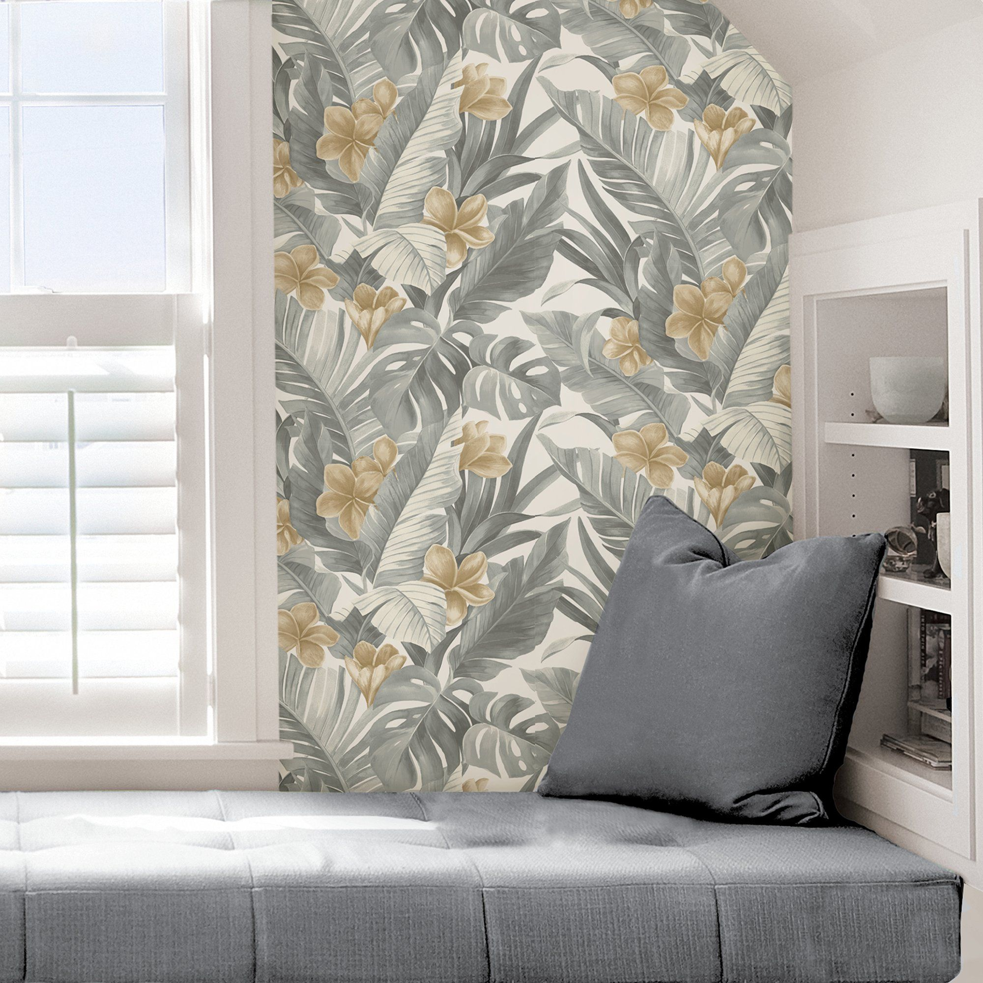 Neutral Paradise Peel And Stick Wallpaper Perfect Wallpaper Home