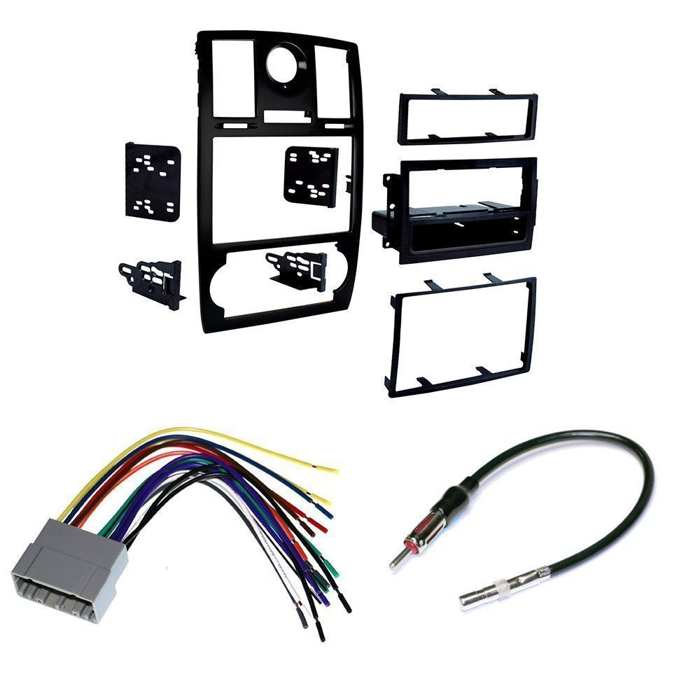 2005 07 Chrysler 300 Car Stereo Install Mounting Kit Wire Harness Audio Installation Wiring Kits And Radio Antenna