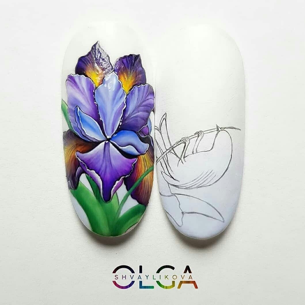 Pin di Iana su Дизайн ногтей   Unghie tutorial, Unghie ...