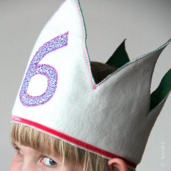 Geburtstagskrone ♥ wie versprochen zum 6. Geburtstag