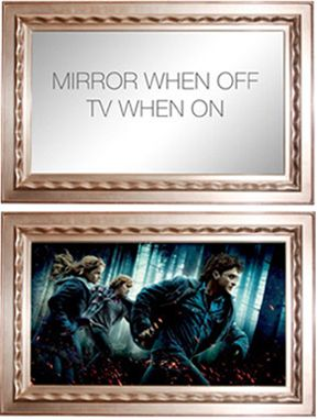 GK Framing | TV Mirror in One Totally cool. GK best in the framing biz.