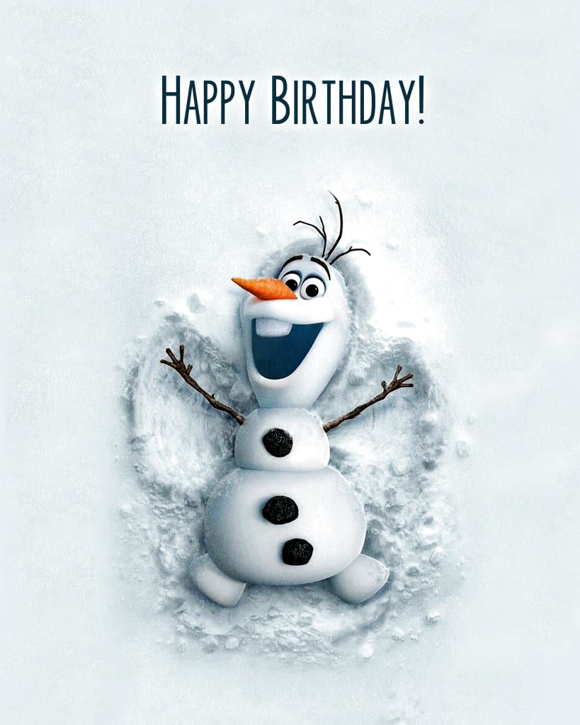 Simple Olaf Birthday Party - A darling Olaf party without