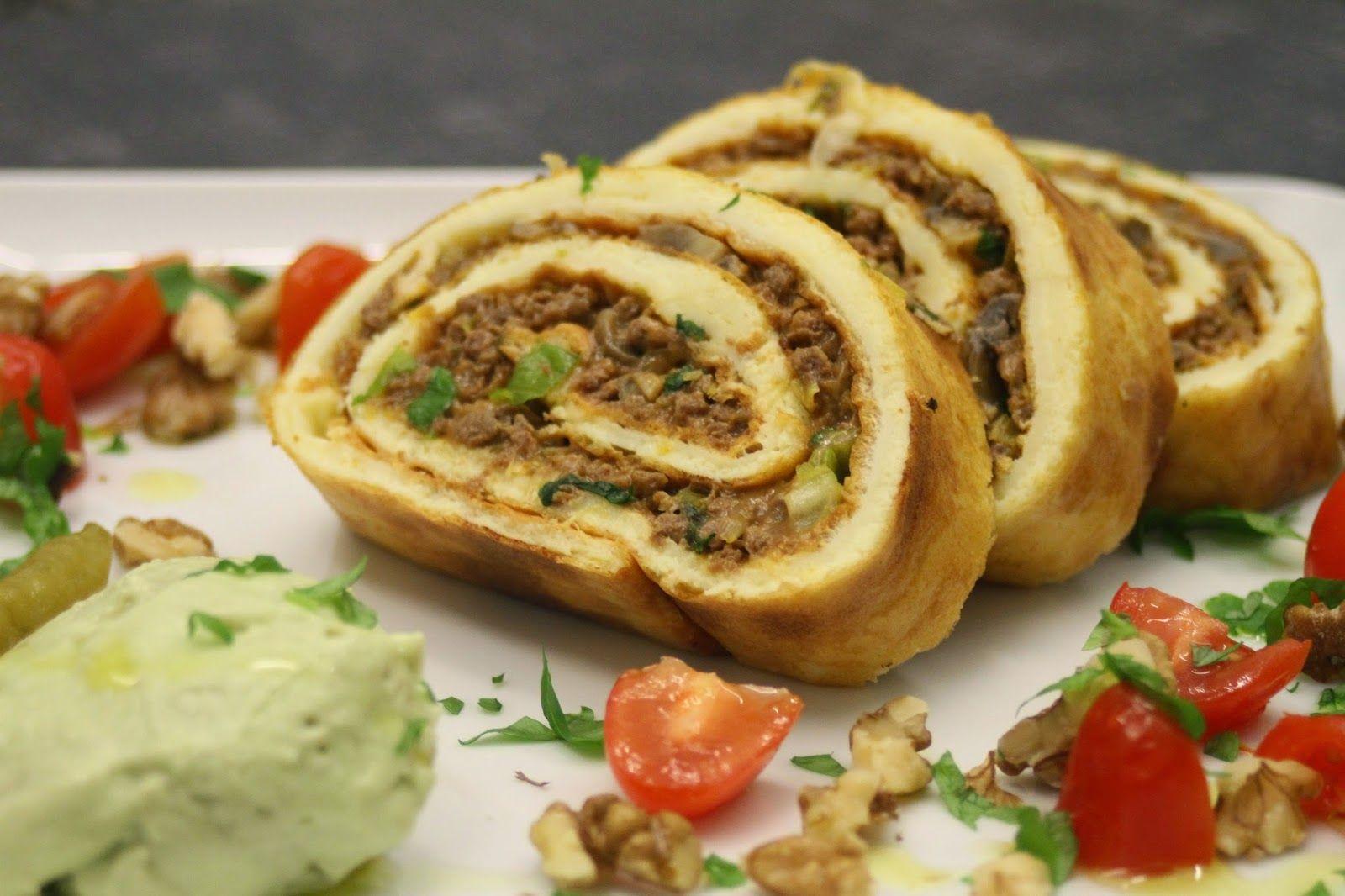 epätrendikäs ruokablogi: Texmex munakasrulla ja guacamolemousse