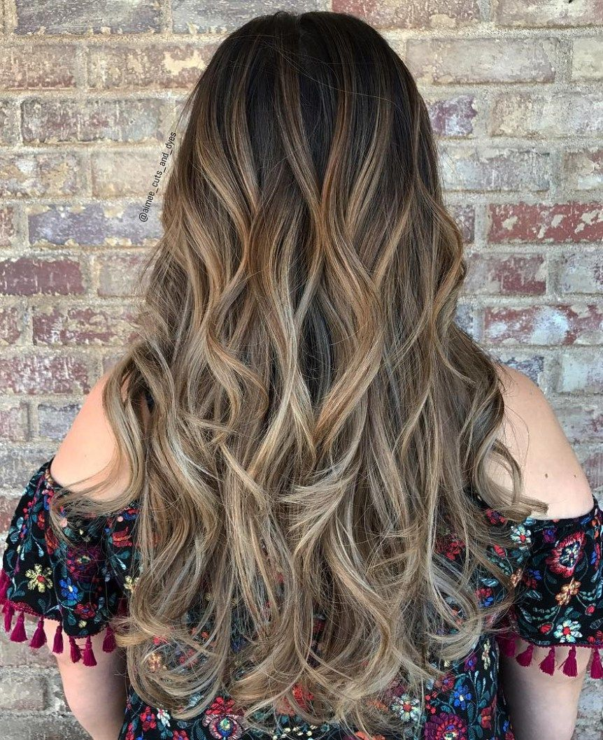 The best balayage hair color ideas flattering styles brown