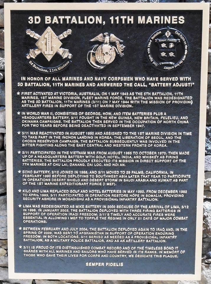 11th Marine Reg.