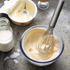 Karamellcreme mit Sahnelikör - Tortenfüllung
