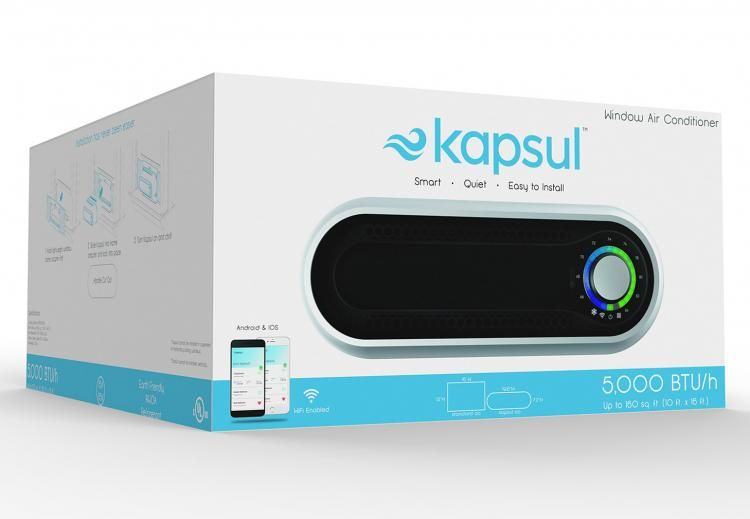 Kapsul W5 A New Modernized Window Ac Unit Window Ac Unit Small Window Air Conditioner Window Air Conditioner