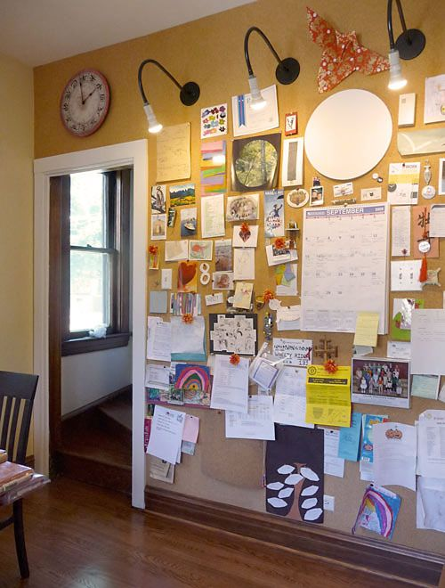 Several Craft Nectar Readers Have Expressed An Interest In Learning More About The Cork Walls Shown In My Interview Cork Wall Cork Board Wall Inspiration Wall