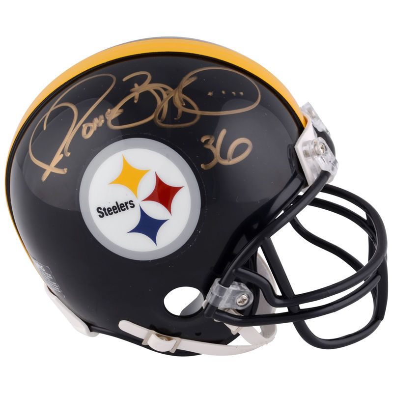 Jerome Bettis Pittsburgh Steelers Fanatics Authentic Autographed Riddell  Mini Helmet 6894835ca