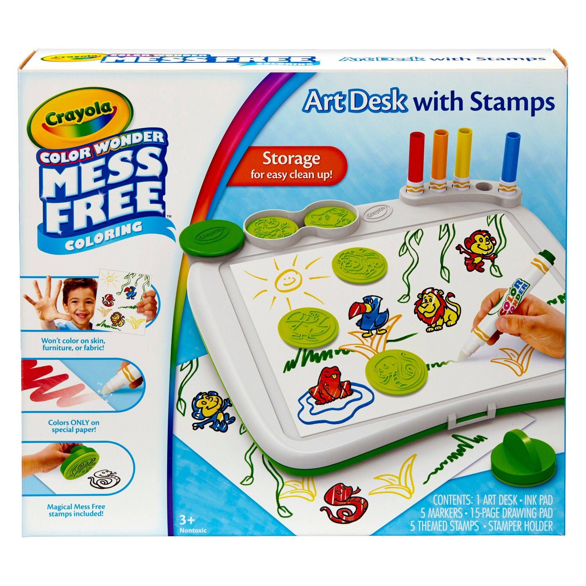Crayola Color Wonder Mess-Free Stamping Desk, | Products ...